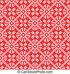 Norway Christmas seamless vector background, Eps 8 image