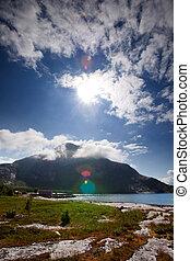 Norway Coast Landscape