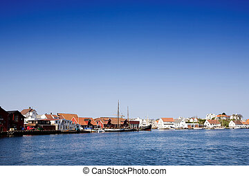 Norway Coast Town