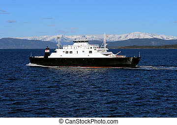 Norway ferry boat - Norway recreation and transport ferry...