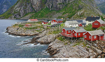 Norway Fjords and Mountains Landscape - europe travel