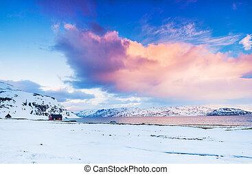 norway., hiver