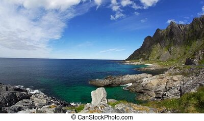 norway lofoten in summer