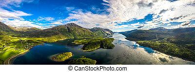 norway., panorama, schöne , natur