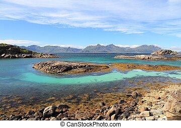 Norway summer landscape