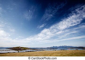 norwegen, landschaftsbild