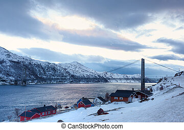norwegen, winter