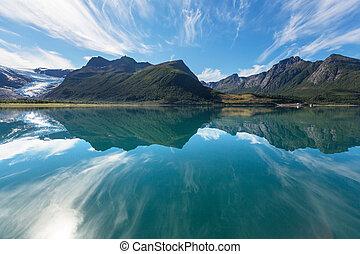 norwegia, krajobrazy