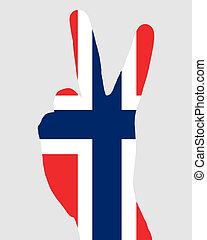 Norwegian finger signal