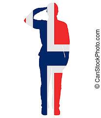 Norwegian salute