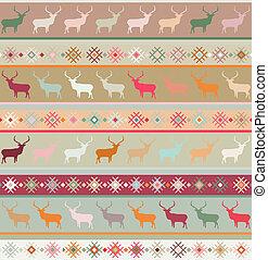 Norwegian seamless pattern. EPS 8