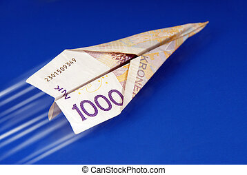 Norwegian travel money