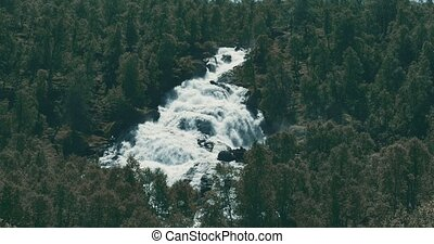Norwegian Waterfall - Graded and stabilized version. Watch ...