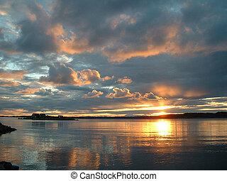 Norweigen Sunset 1