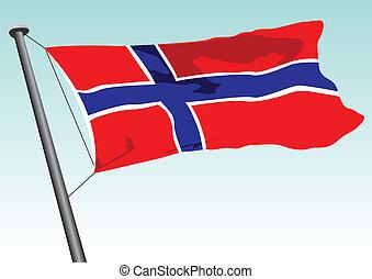 norweska bandera