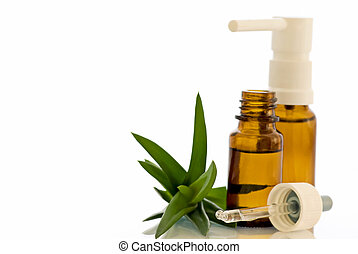 Nose Drops and Spray with Aloe