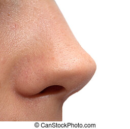 nose girls. macro
