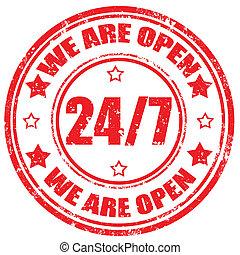 nosotros, ser, open-stamp