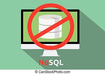 nosql, base de datos, nuevo, concepto