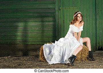 nosso, vezes, noiva