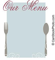 nostro, menu