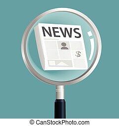 notícia, ampliar