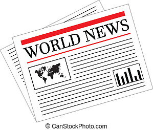 notícia diária, jornal