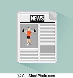notícia, esportes