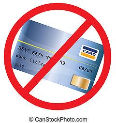 not, anerkannt, creditcard