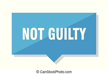 not guilty price tag - not guilty blue square price tag