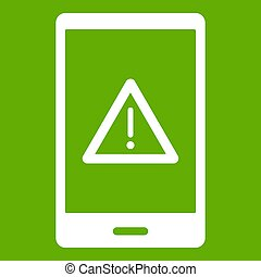 Not working phone icon green