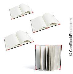 nota, difícil, cobertura, livros