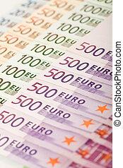 nota euro, série