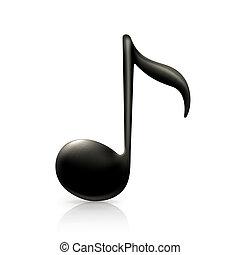 nota, hudba