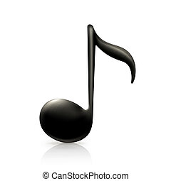 nota, música
