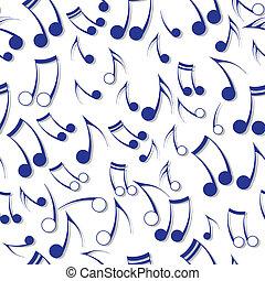 nota, musica sana, struttura