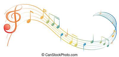 nota, musica