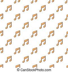 nota, padrão, música, seamless