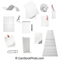 nota papel, escritório, caderno, documento, negócio