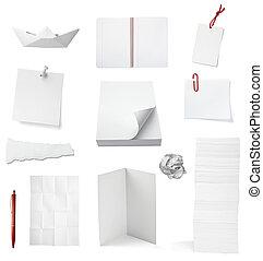 nota papel, oficina, cuaderno, documento, empresa / negocio