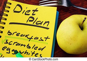 nota, plan., dieta, titolo