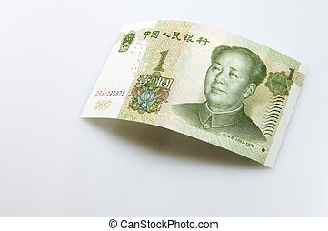 nota, yuan, banca