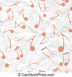 notare carta, musica, struttura