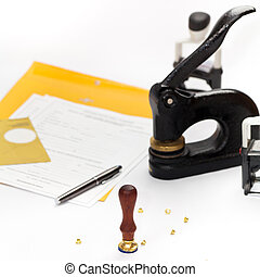 Notary Public supplies