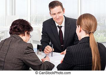 notary, publiek, kantoor