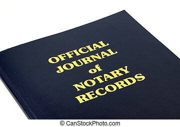 Notary Records - Official Journal of Notary Records