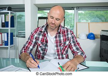 notas, importante, escrita