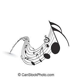 notas música