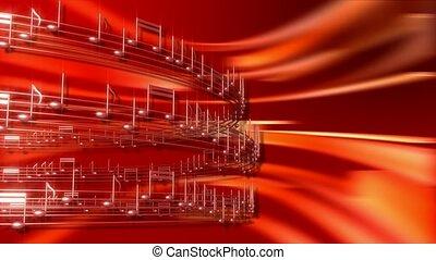 notatki, muzyczna obsada