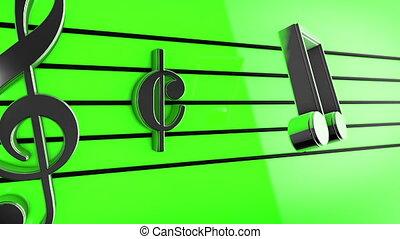 """notatki, muzyka, staves"""", """"animation"""